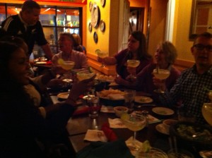 Dinner at Jaleo's with my Crate family including Rob, Becky, Mari, Jewelle, Alex and Alexis.