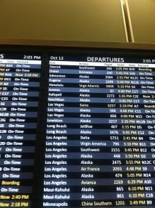 At Seattle International Airport.