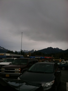 Yep...that is a Blockbuster. Here. In. Juneau.